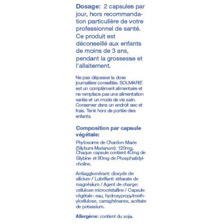Composition et Posologie Solmarie